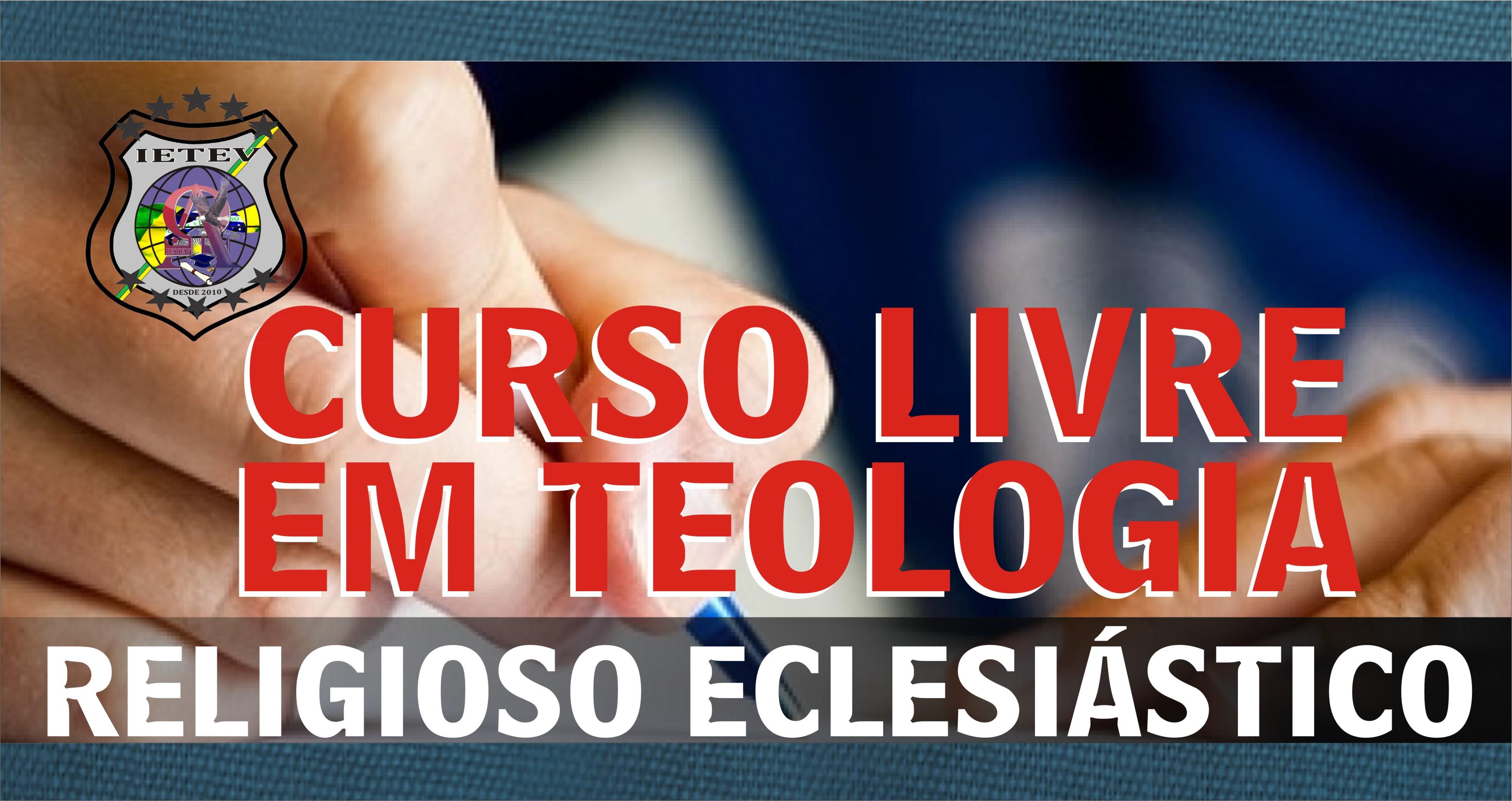 CURSOS LIVRES EM TEOLOGIA