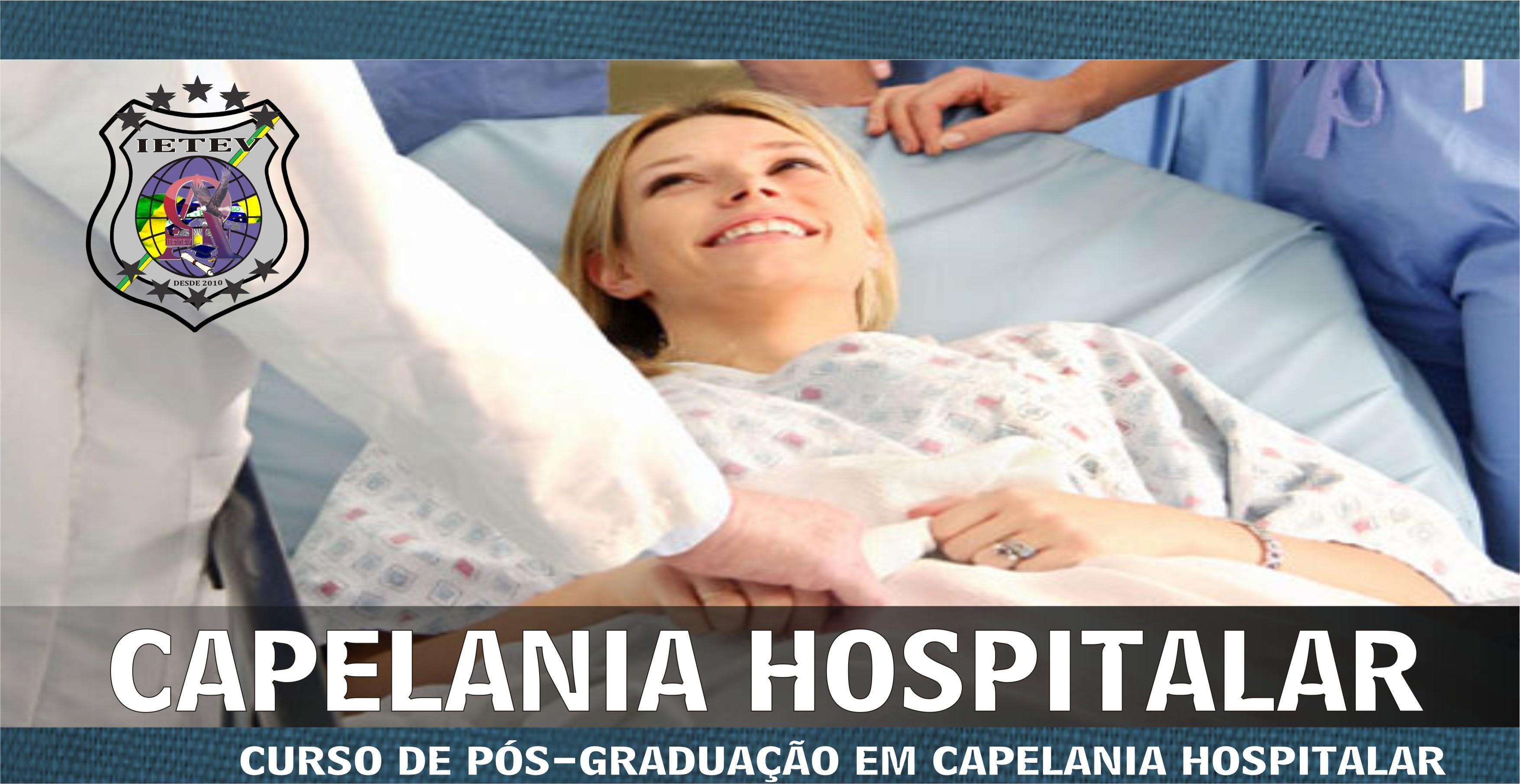 PÓS-GRADUAÇÃO EM CAPELANIA HOSPITALAR
