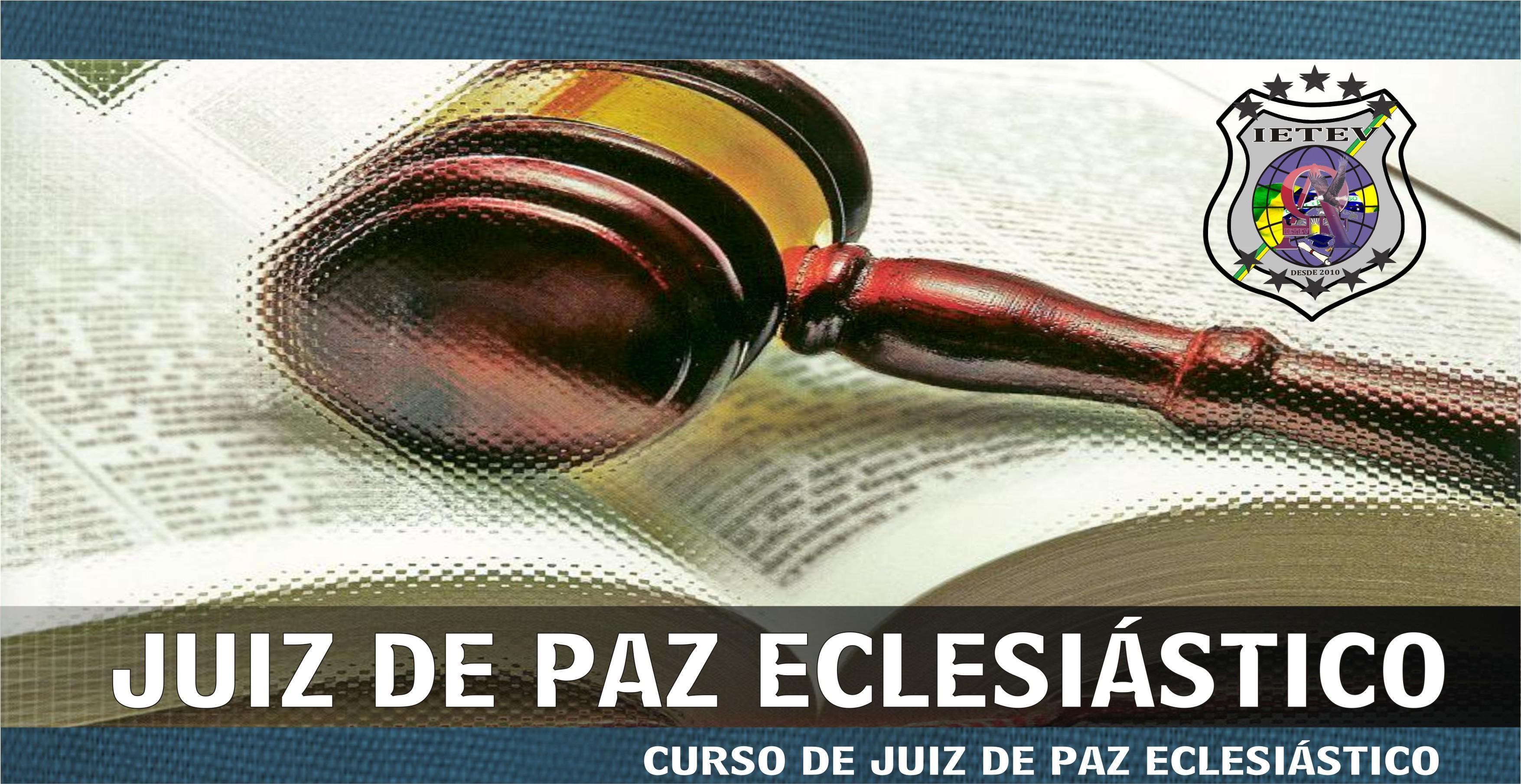 JUIZ DE PAZ ECLESIÁSTICO