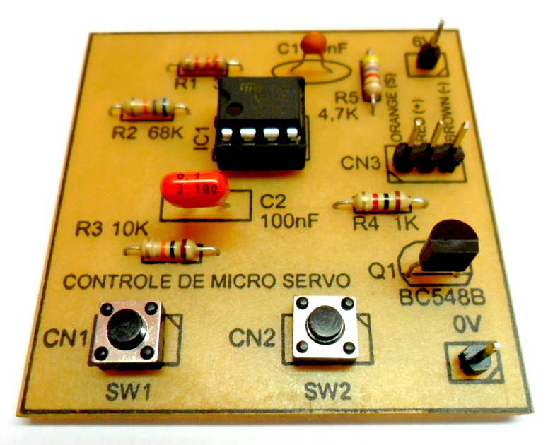controle de micro servo