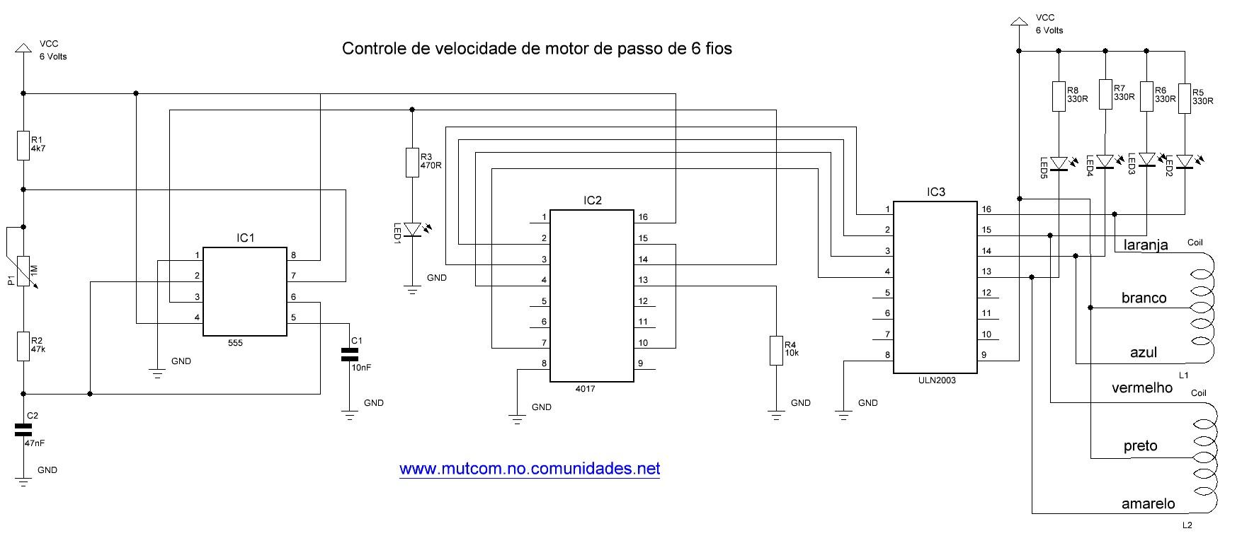 circuitos para montagens