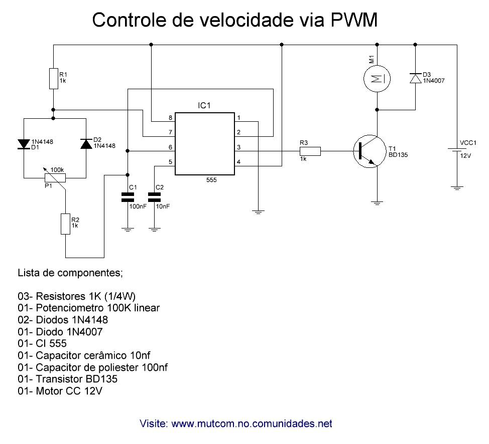 Circuitos Para Montagens Eletrnicos Diversos Substituindo Scr Por Transistores Controle De Velocidade Cc Com Tip 31