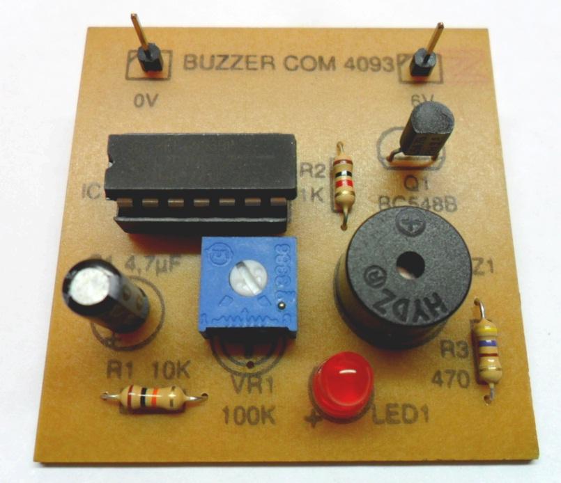 Buzzer+led