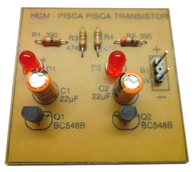 Pisca transistor
