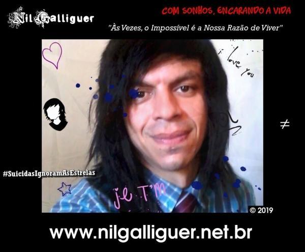 Nil Galliguer: com sonhos, encarando a vida!