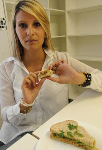 Cristiane Loureiro recomenda o consumo do peixe até três vezes por semana (Cristina Horta/EM/D.A Press)