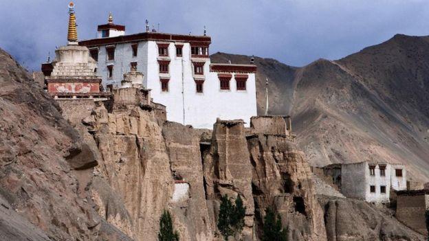Templo isolado