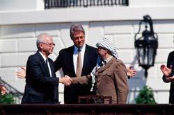 Acordo entre Israel e Palestina em Camp David