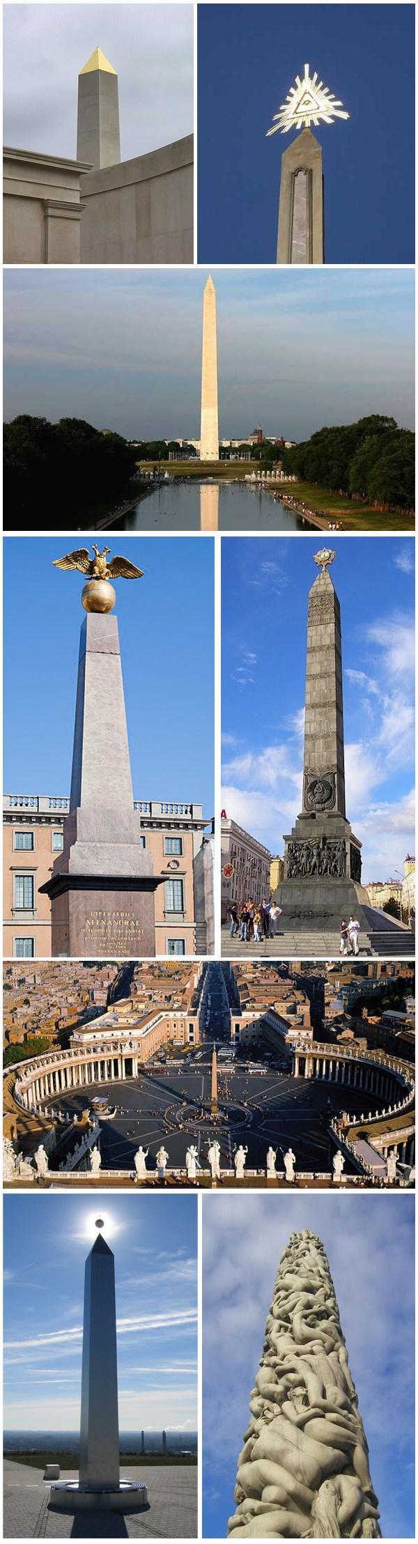 Illuminati Obelisco Simbolismo