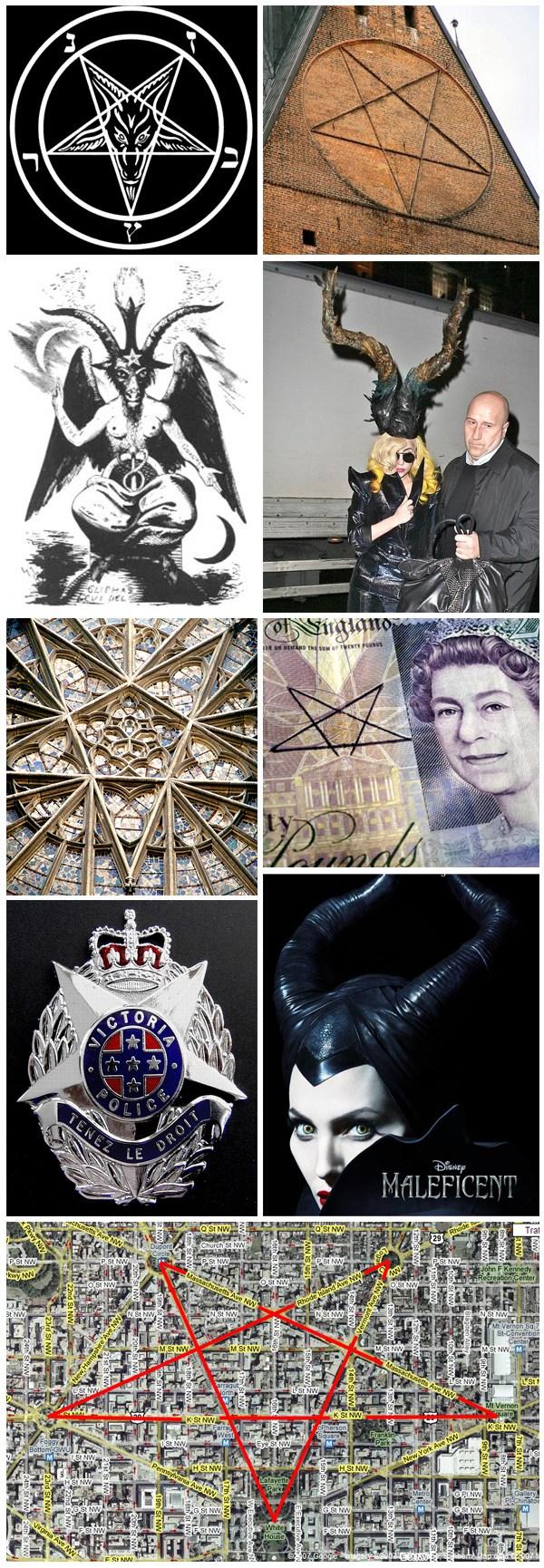 Illuminati Pentagrama Baphomet Simbolismo