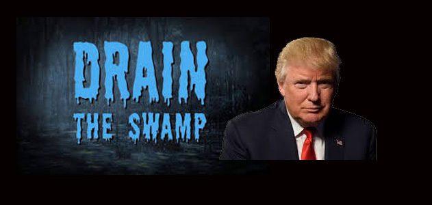O slogan de Donald Trump,