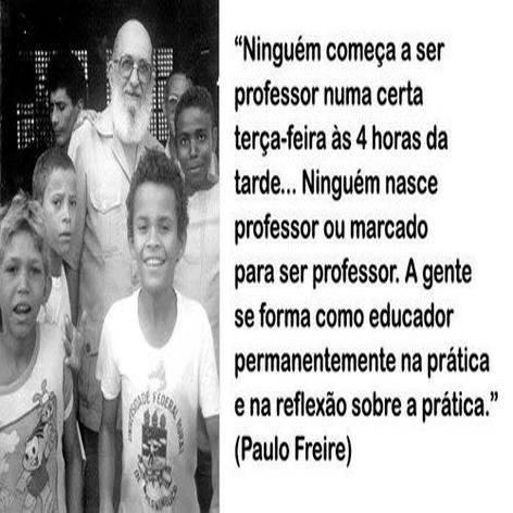 NINGUEM NASCE PROFESSOR