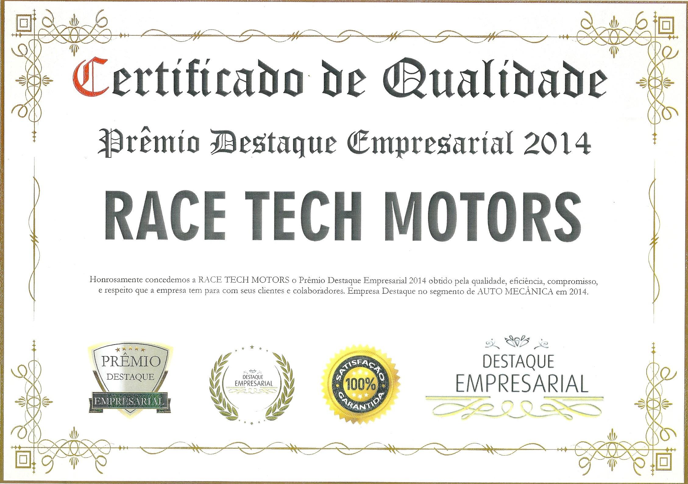 Prêmio Destaque Empresarial 2014